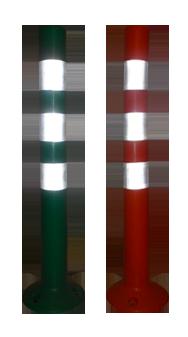 poteaux plastique de type bollard
