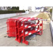Barrieres de chantiers en lot