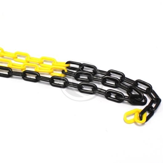 chaine de chantier biton jaune et noire