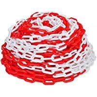 chaine de chantier biton rouge et blanche